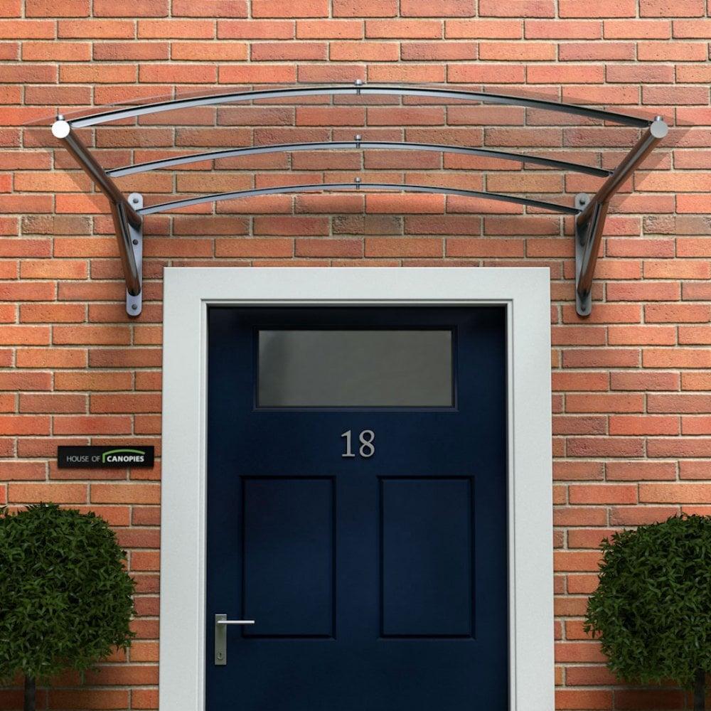 Polycarbonate Door Canopy TYPE: D DDA Act Compliant